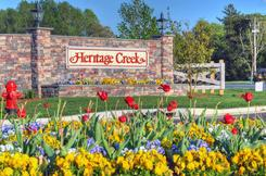 Heritage Creek Neighborhood Entrance
