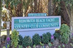 Rehoboth Beach Yacht and Country Club-Rehoboth-DE-Entrance