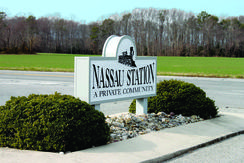 Nassau Station Community Entrance